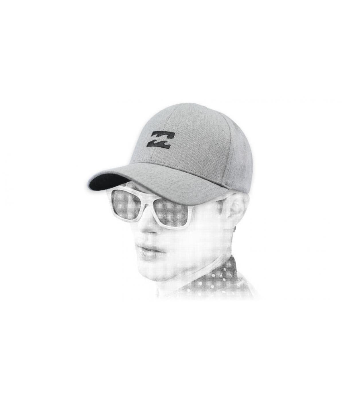 Cappellino di erica grigia di Billabong
