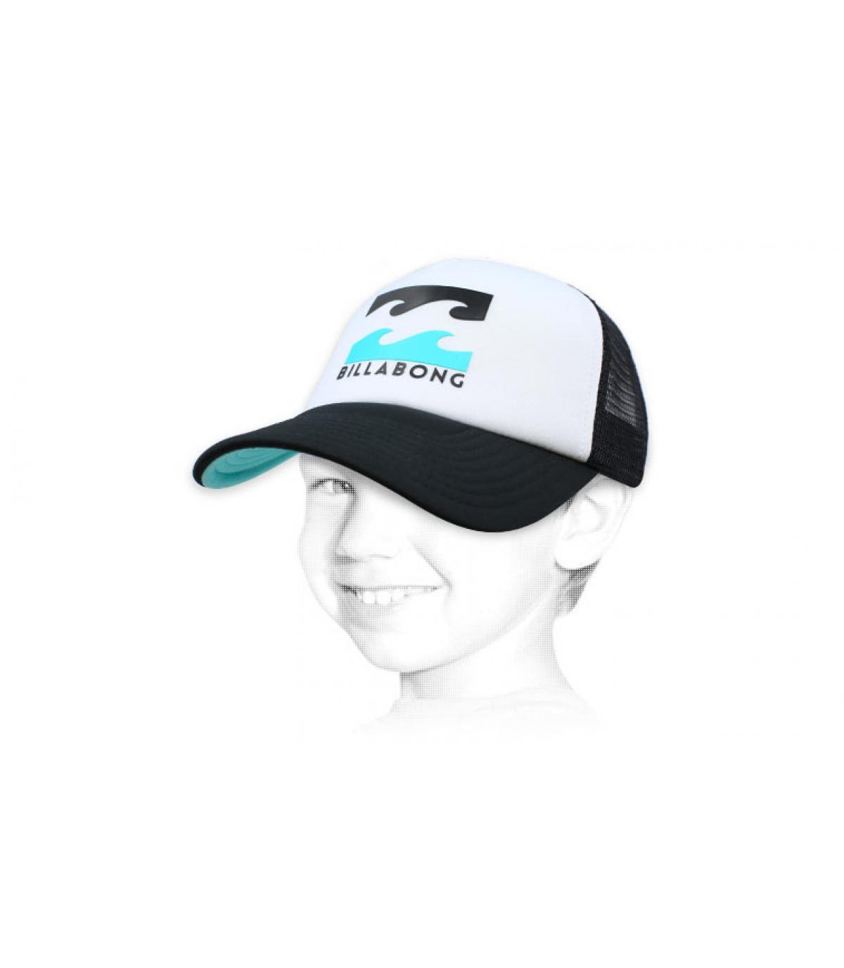 trucker Billabong bambino logo