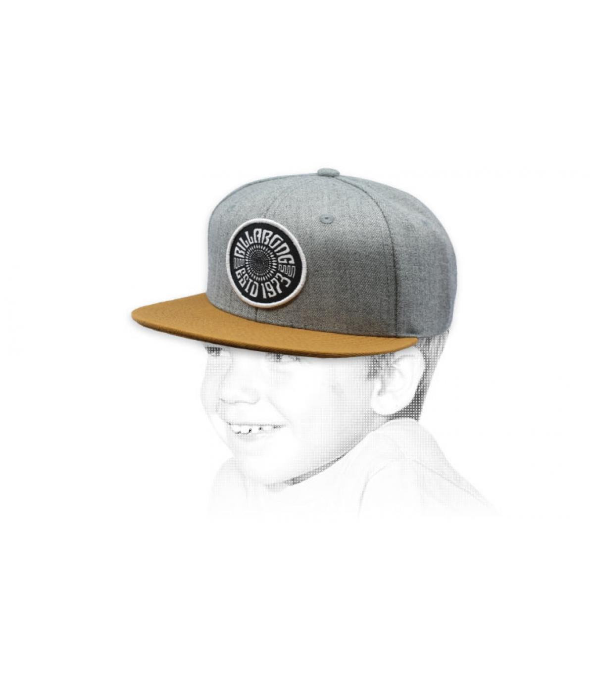 Berretto da bambino grigio Billabong