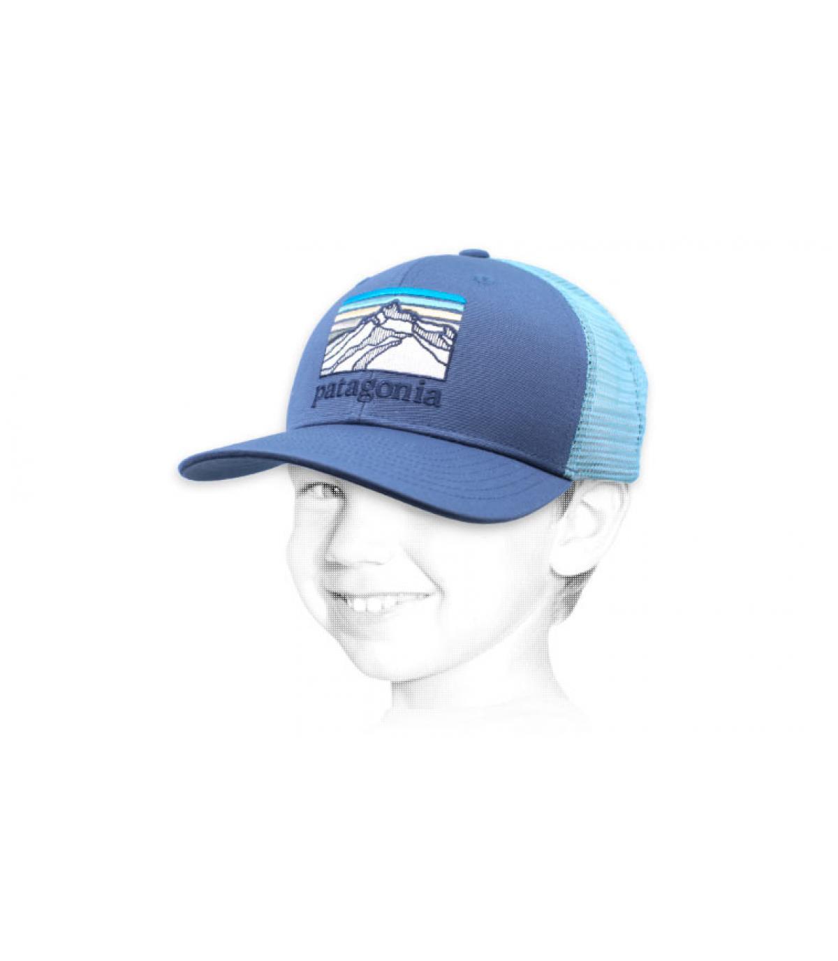 trucker blu Patagonia
