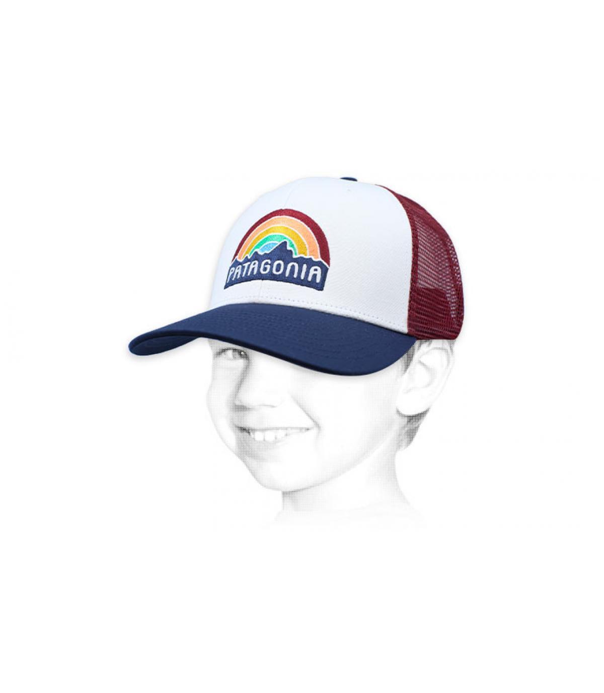 trucker bambino arcobaleno Patagonia