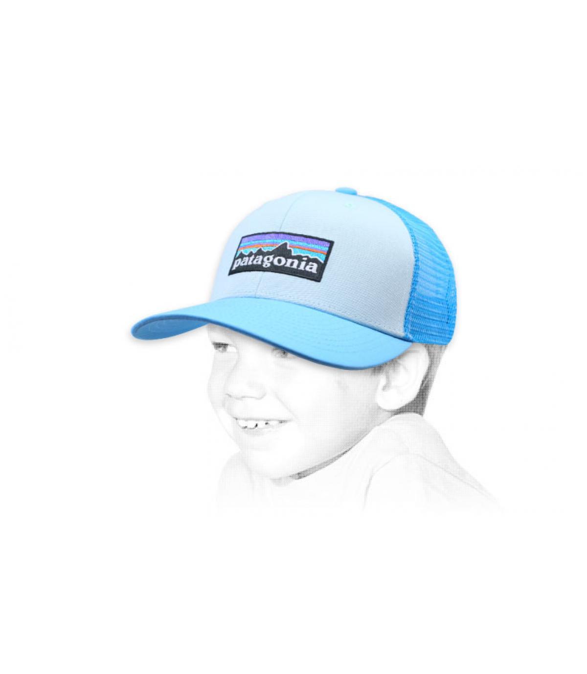 trucker bambino blu Patagonia