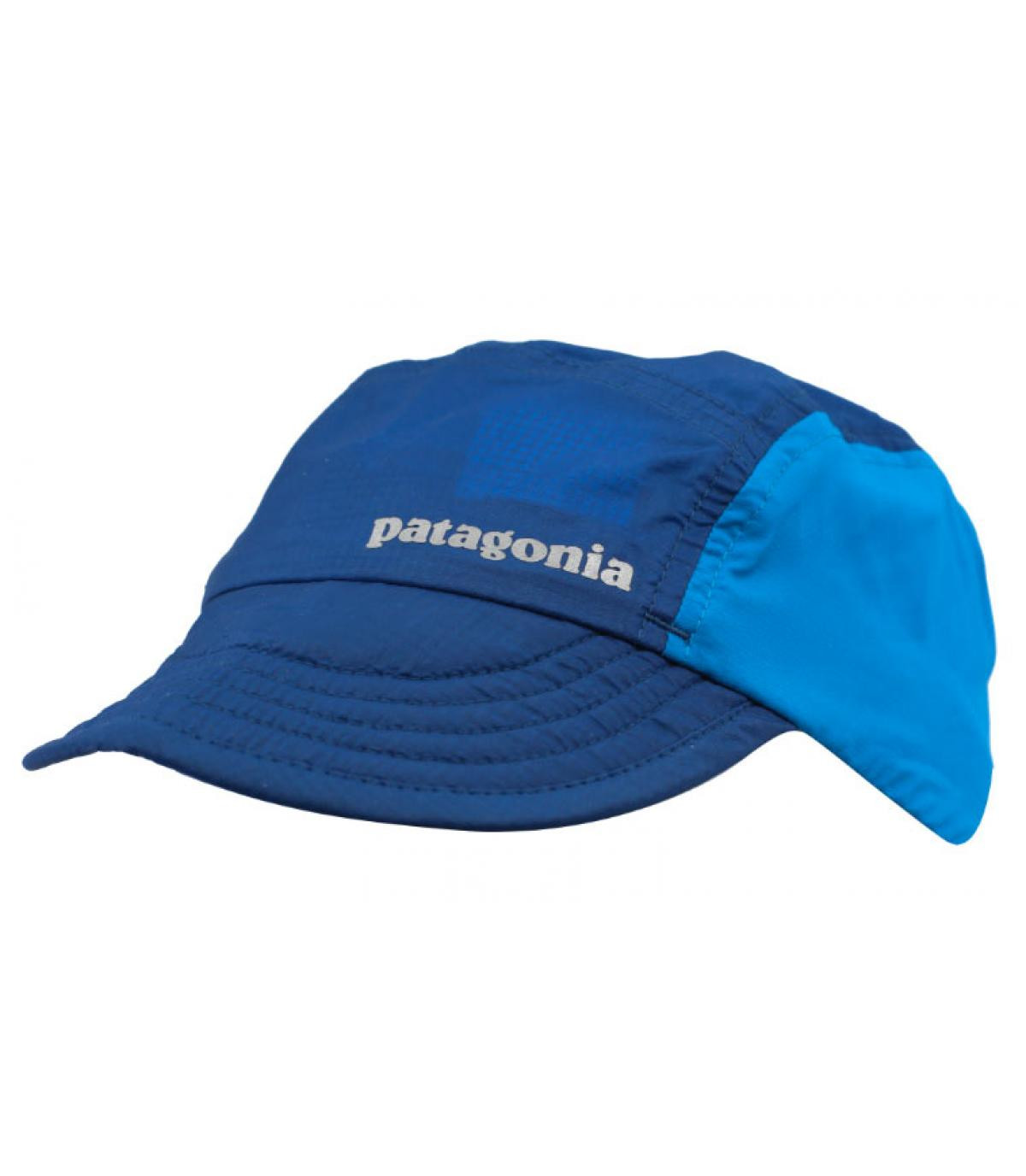 Cappellino blu Patagonia