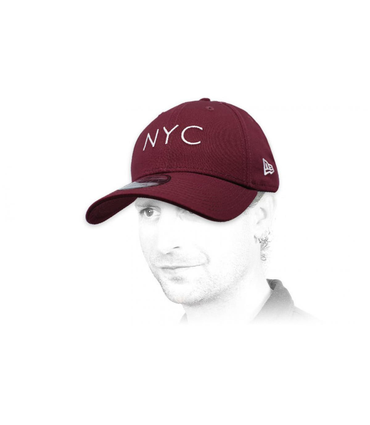 berretto NYC bordeaux