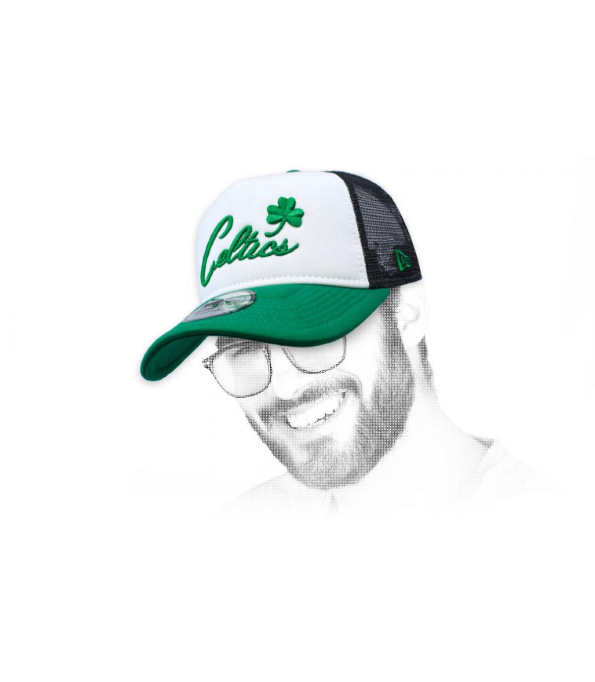 trucker Celtics verde