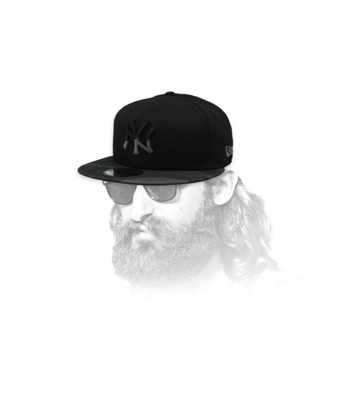 snapback NY nero