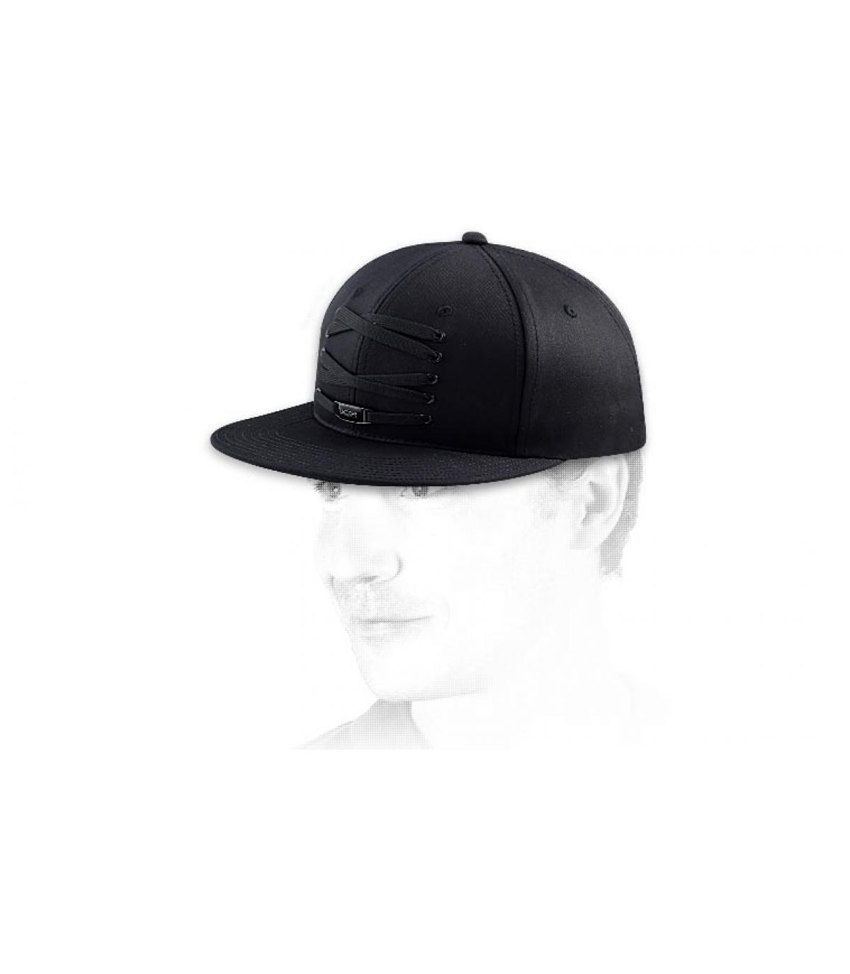 Cappellino Lacer lacets nero
