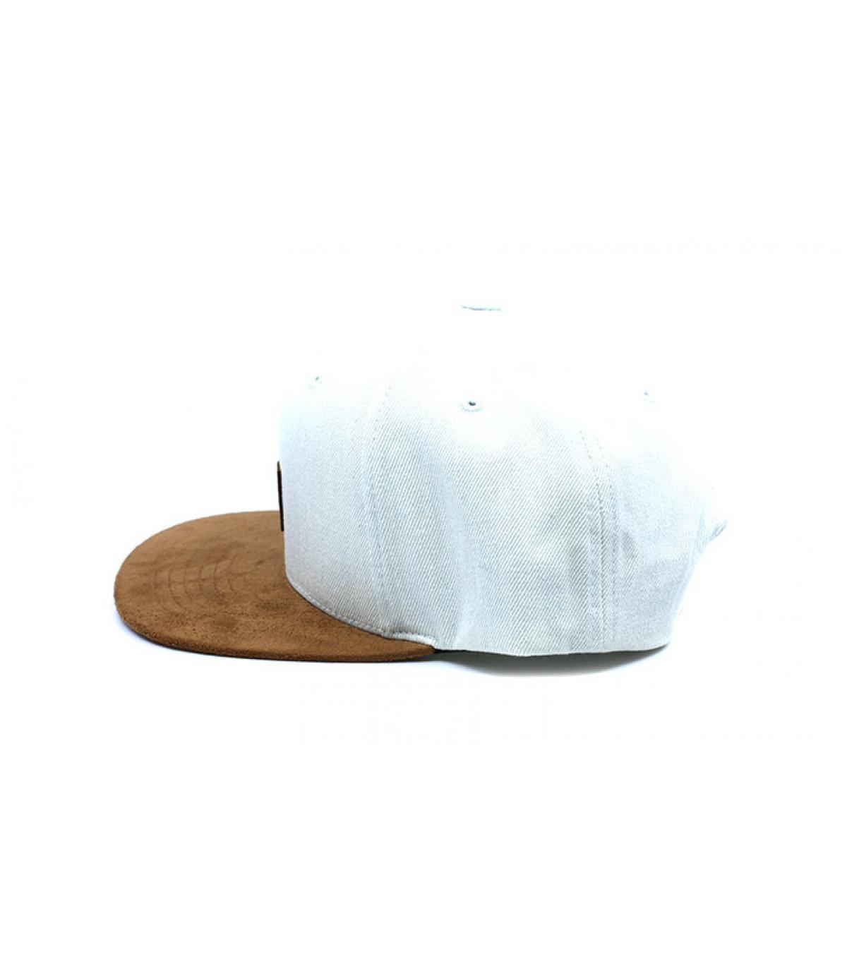 Dettagli Suede Cap bleached denim - image 4