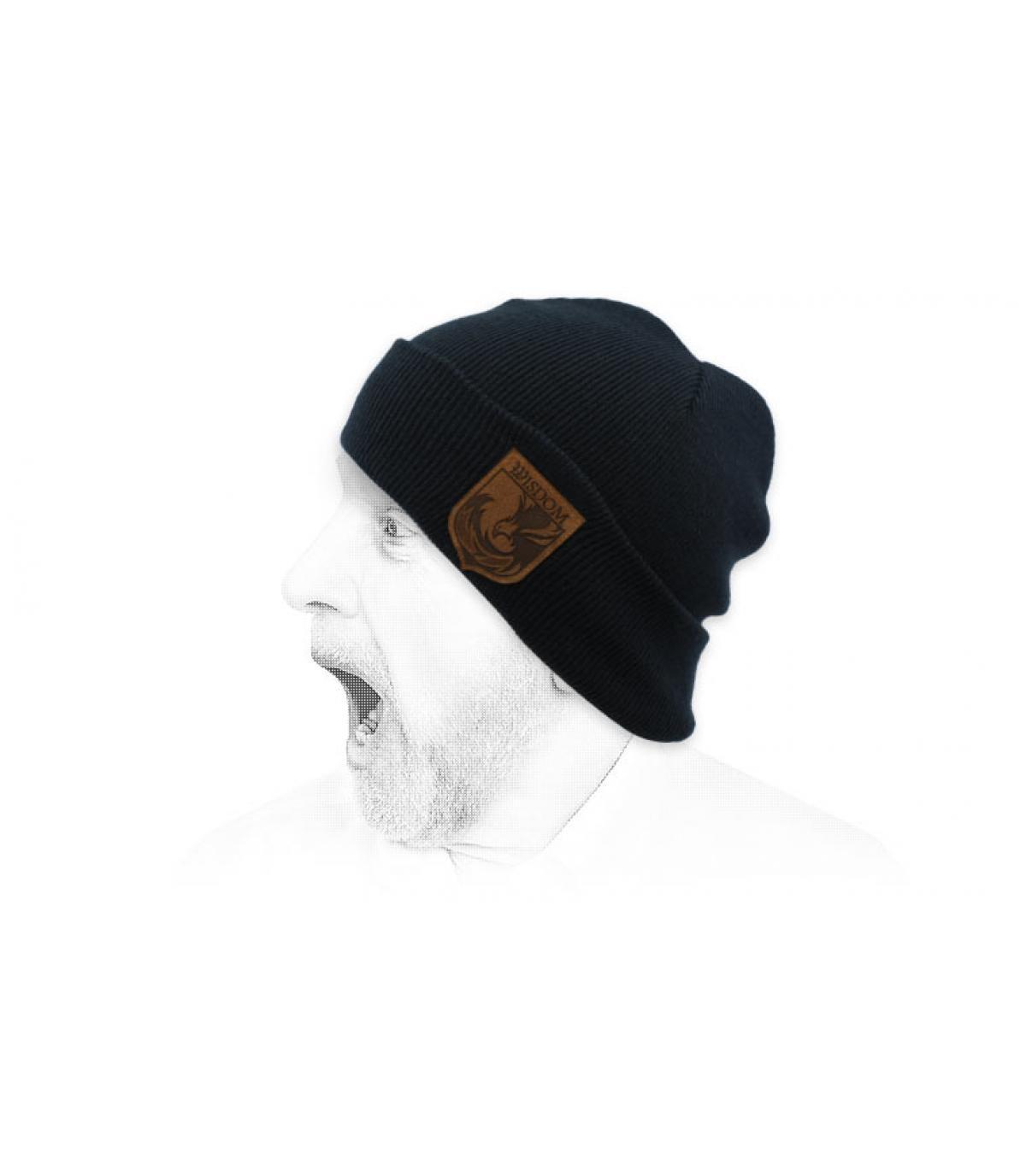 cappello blu saggezza