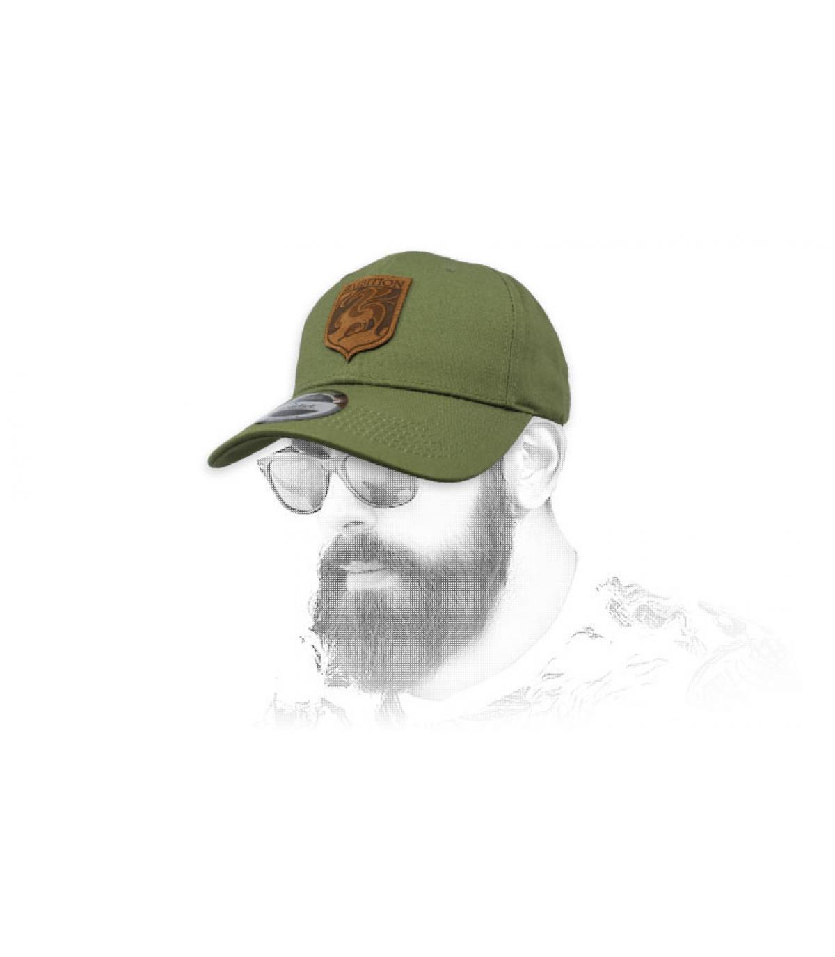 Cappello verde ambition