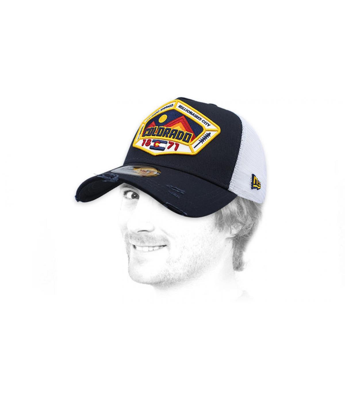 trucker Colorado blu navy