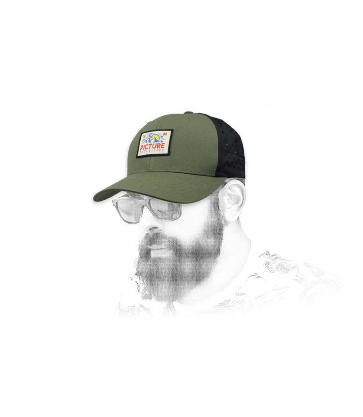 trucker Picture verde