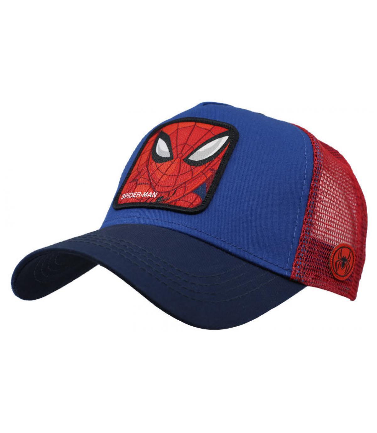 trucker rosso blu di Spiderman
