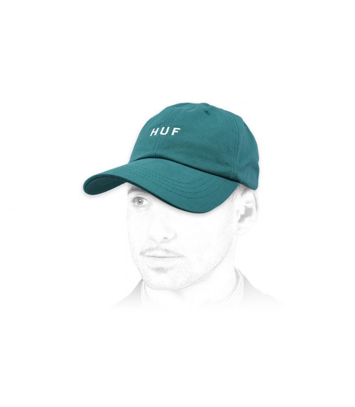 berretto blu Huf