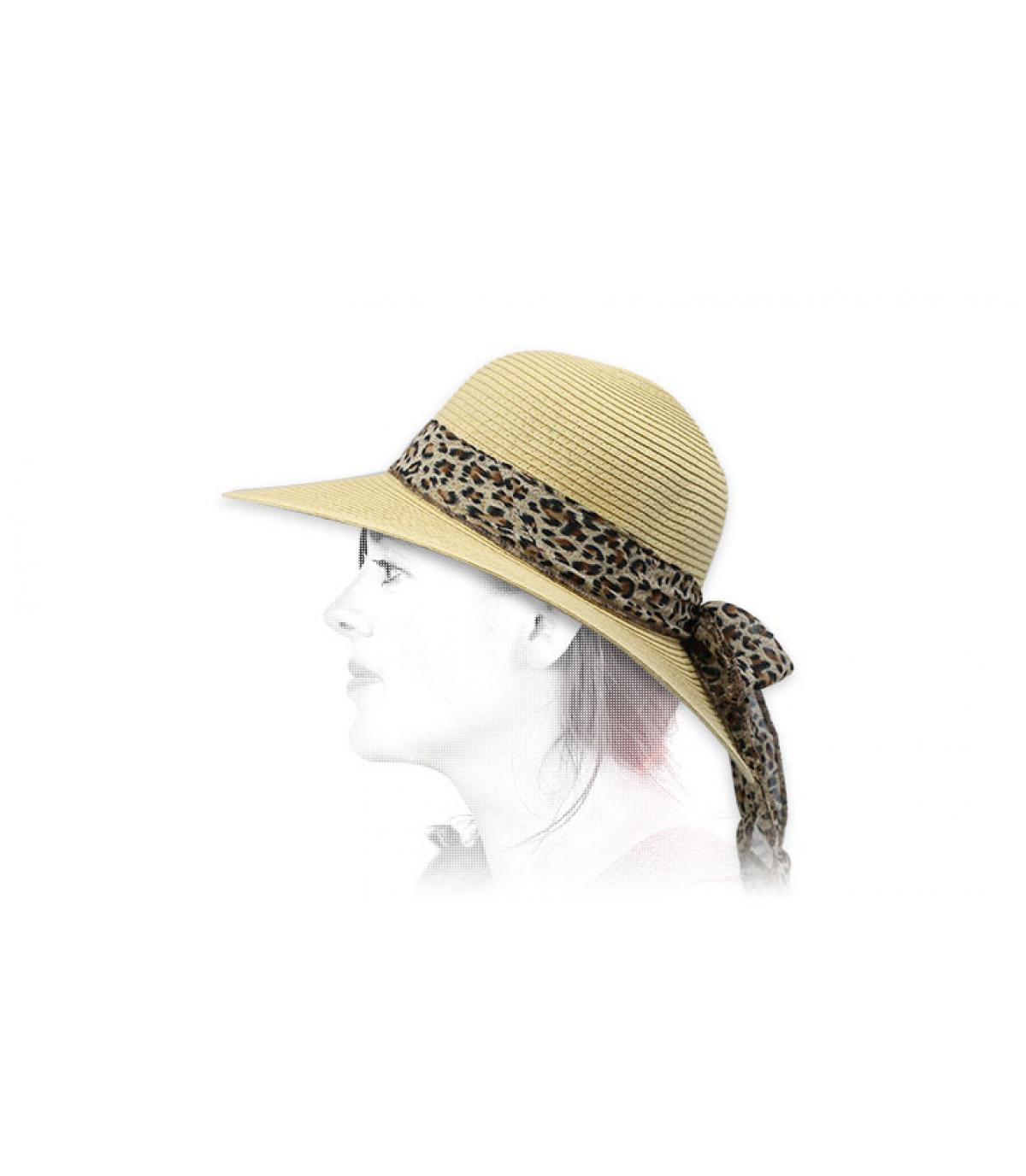 sciarpa cappello di paglia