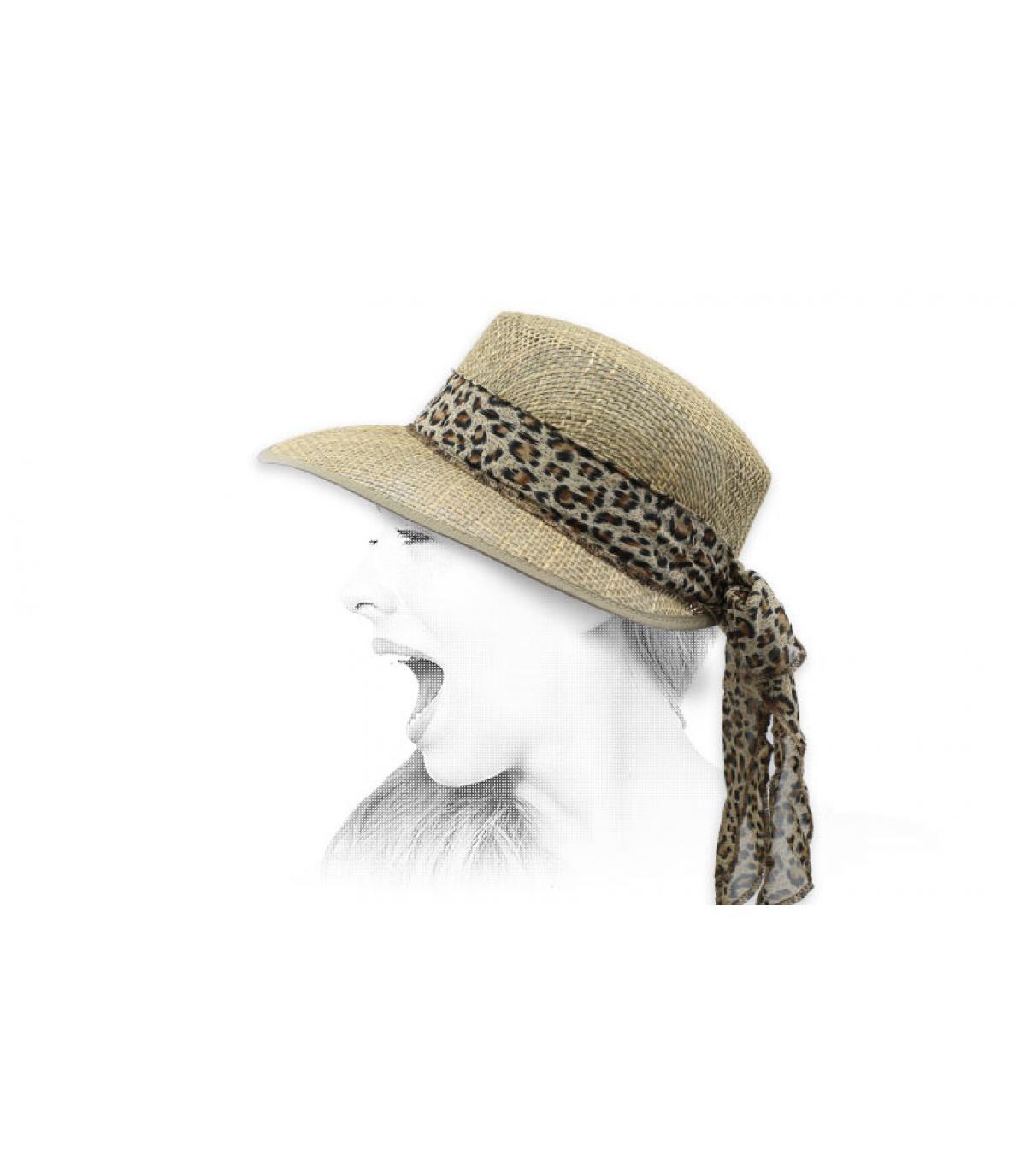 visiera cappello sisal