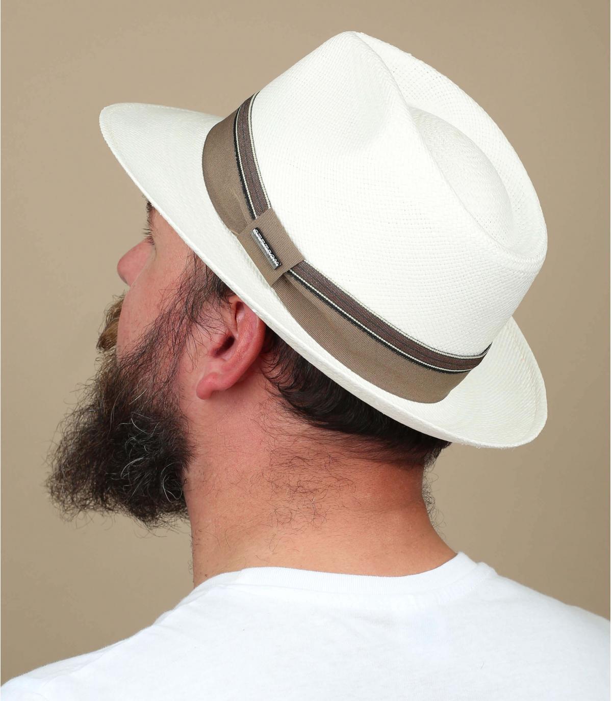 cappello panama bianco