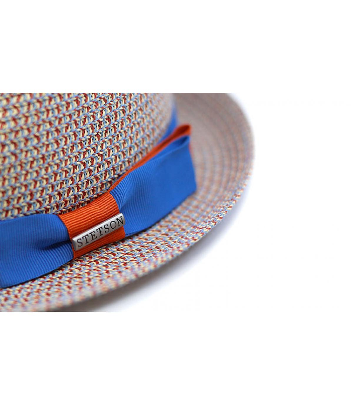 Dettagli Trilby Toyo blue beige - image 3