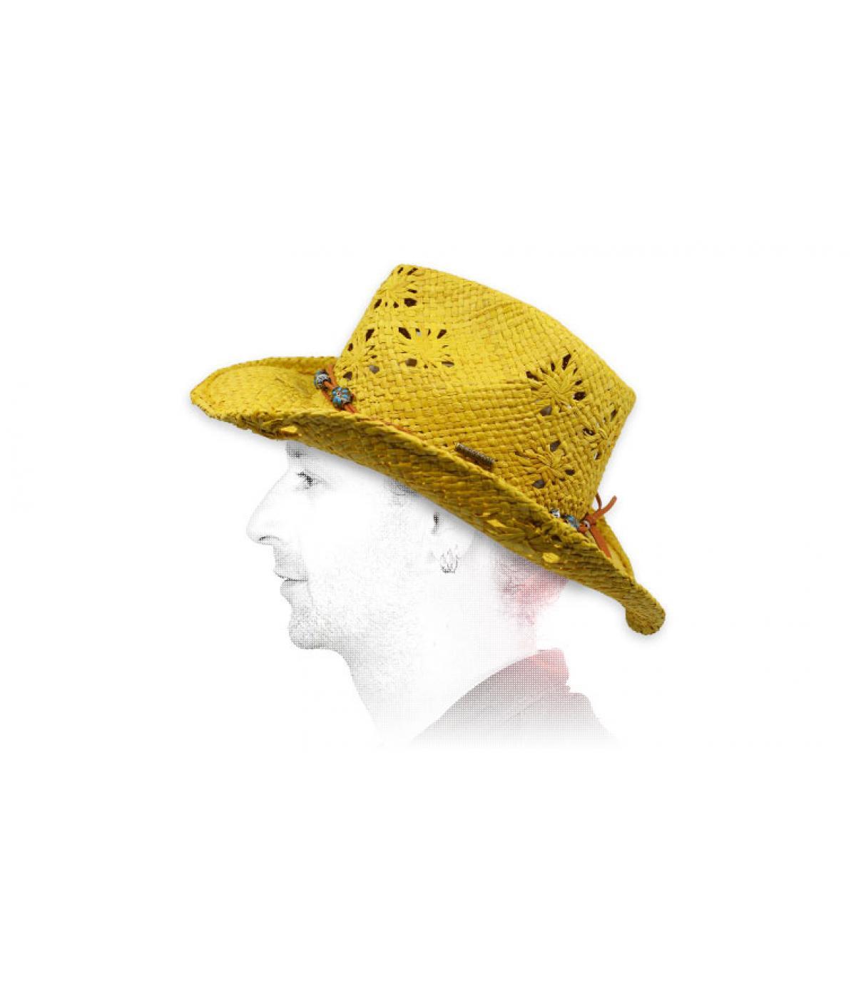 cappello da cowboy paglia Stetson