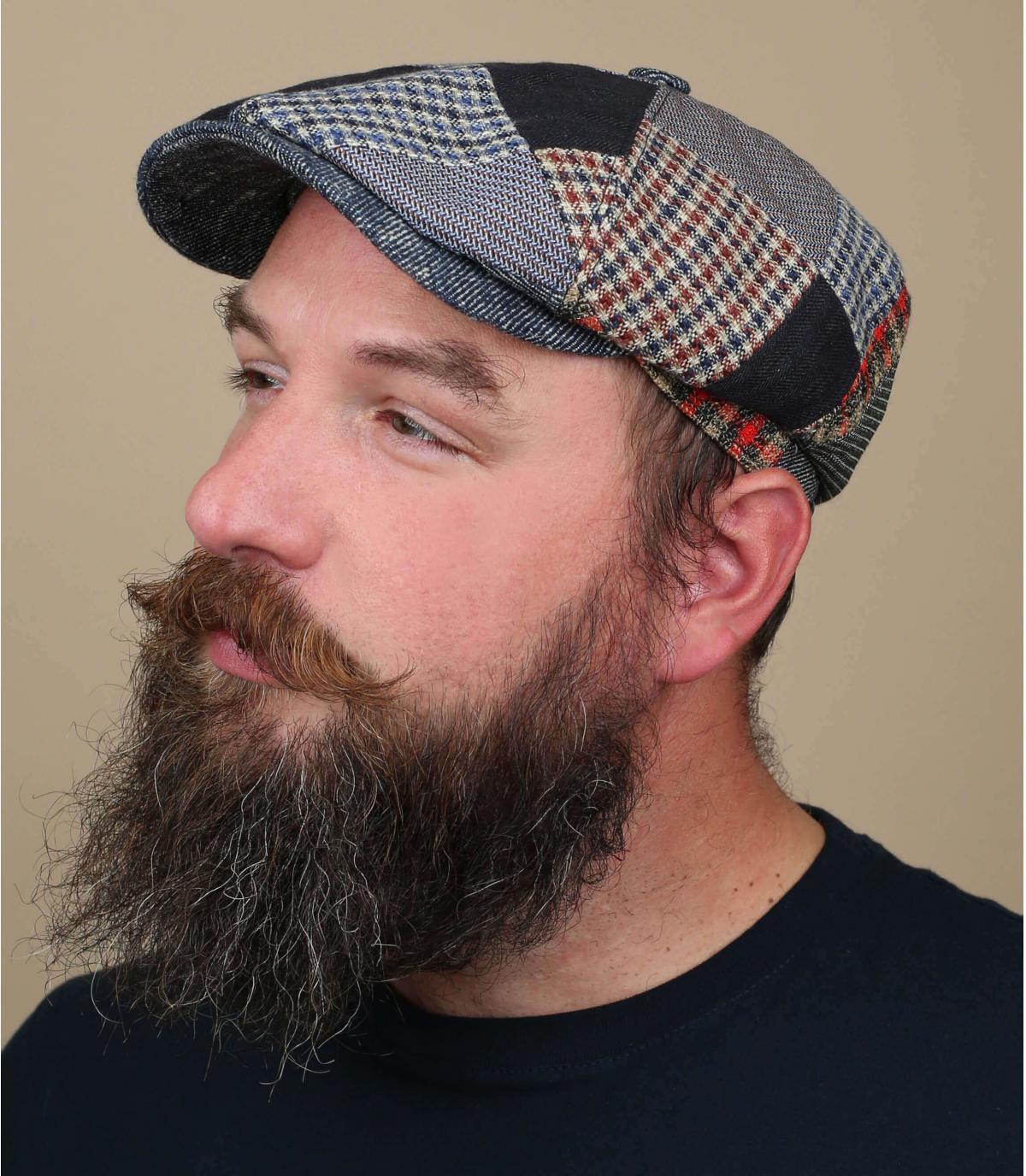patchwork di berretto Stetson