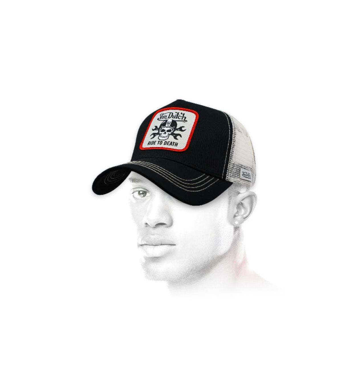 la testa della morte del trucker Von Dutch