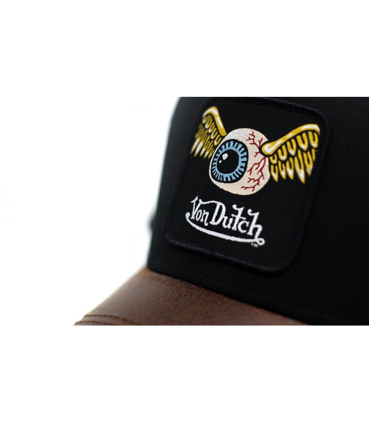 Dettagli Trucker Eye Patch black brown - image 3