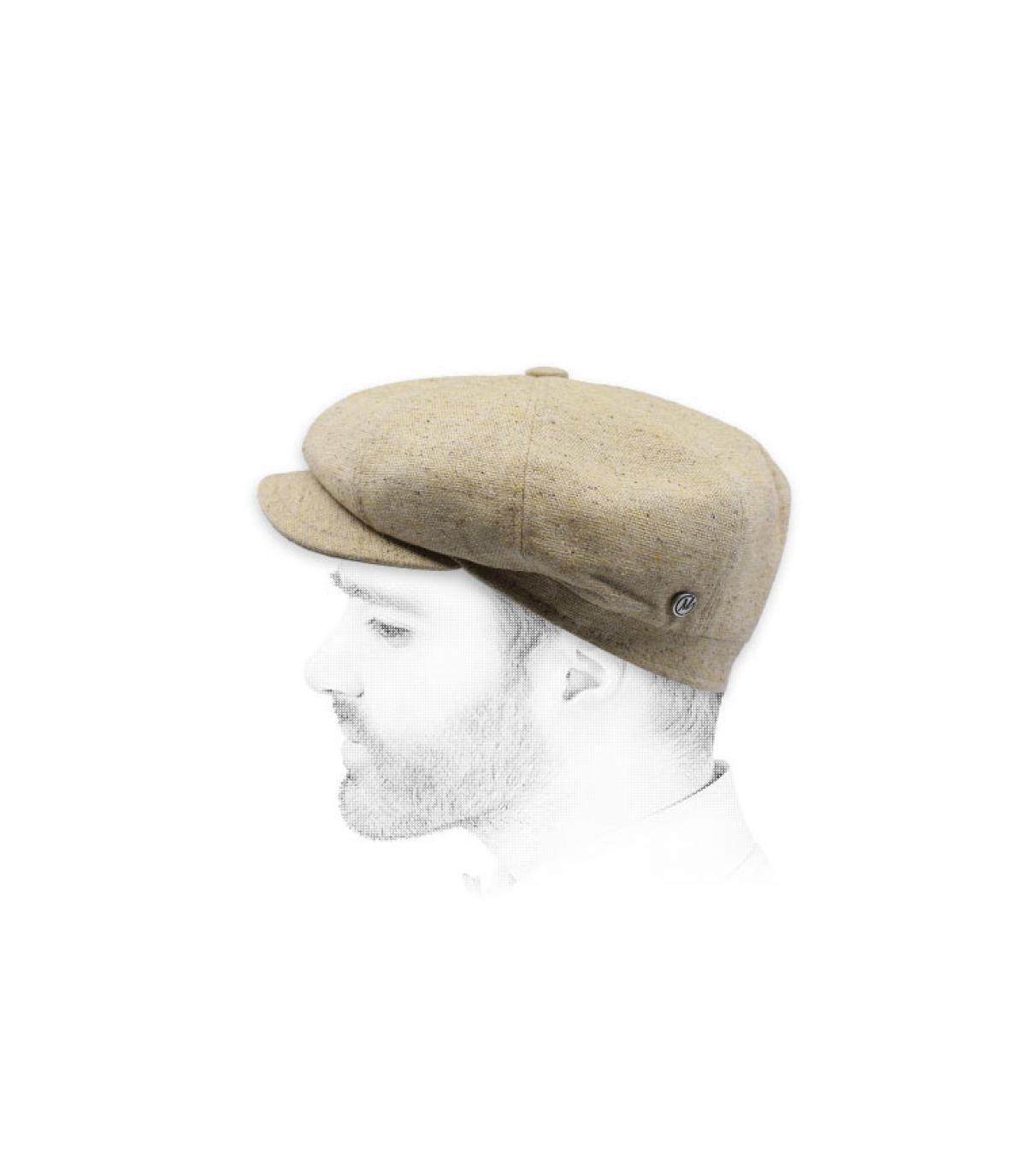 newsboy lino lana beige