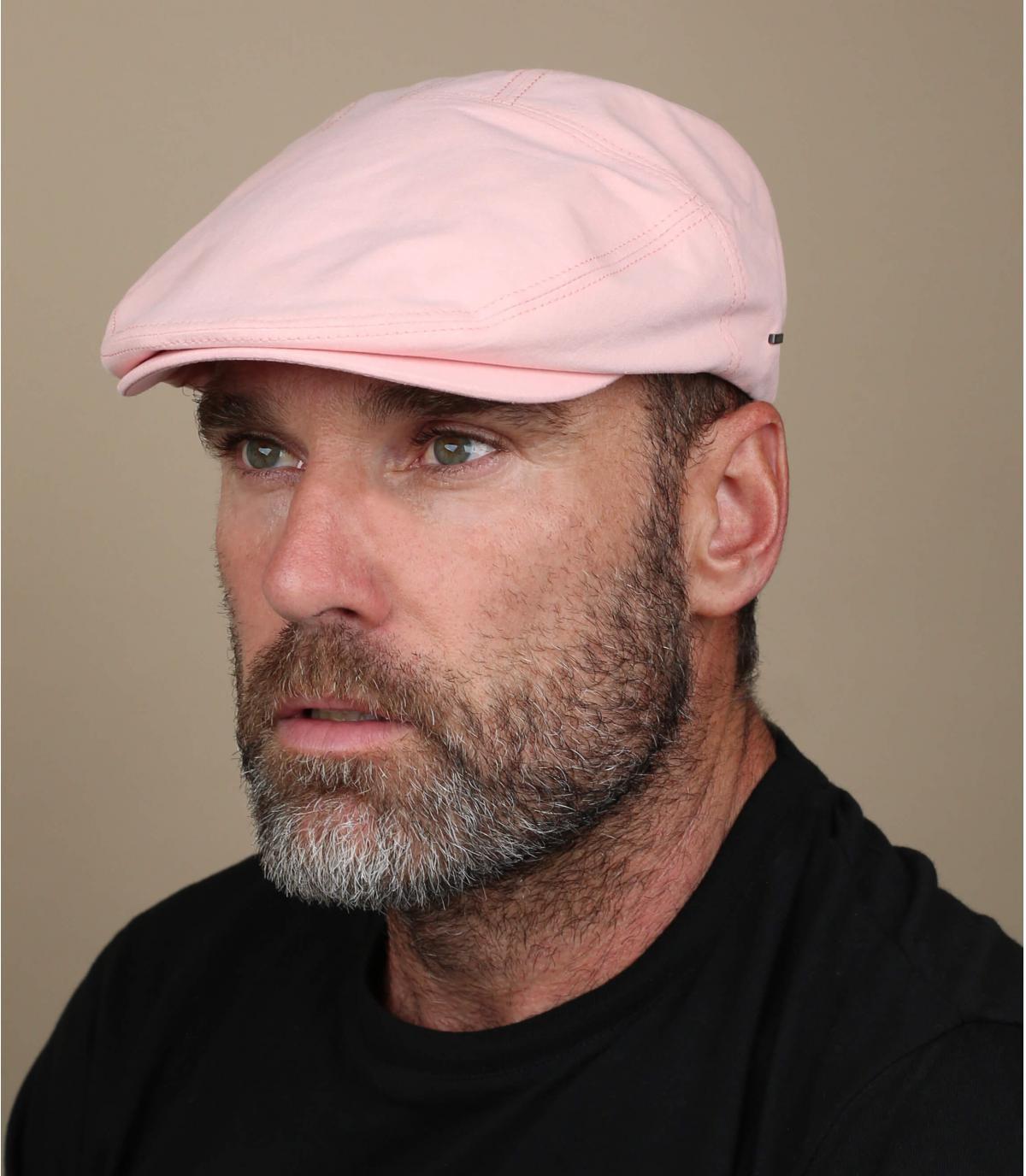 berretto di cotone rosa