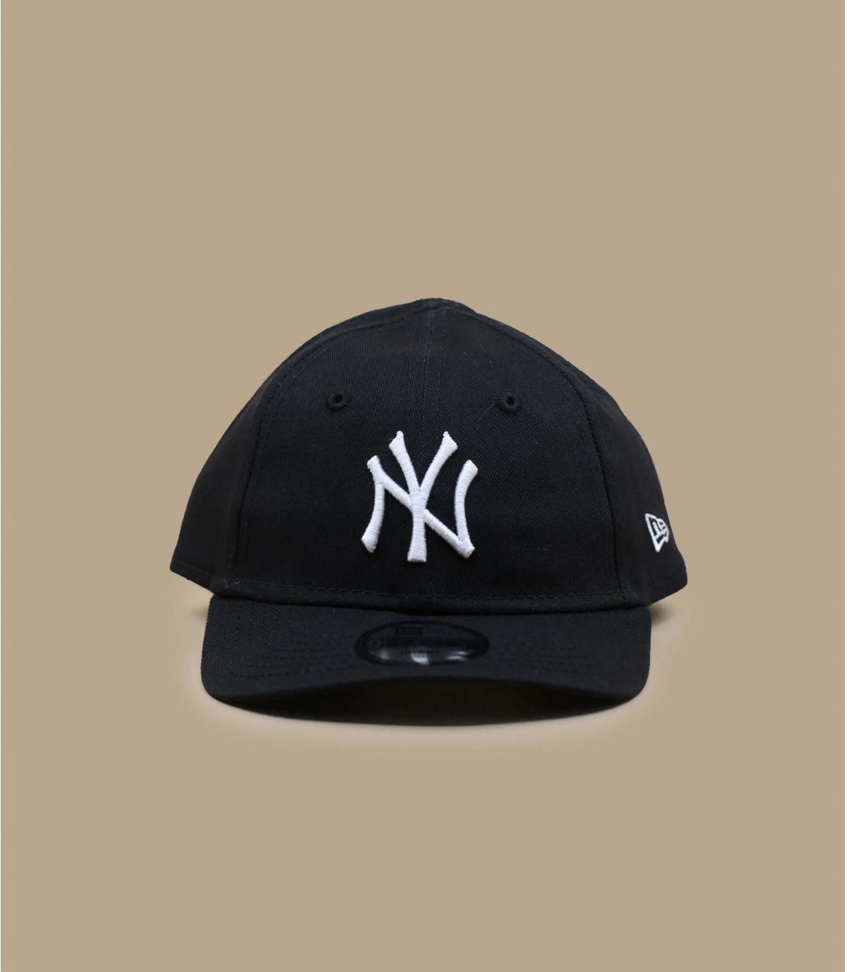 berretto NY bambino nero