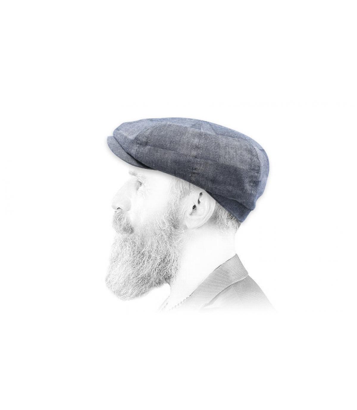 berretto strillone blu scuro