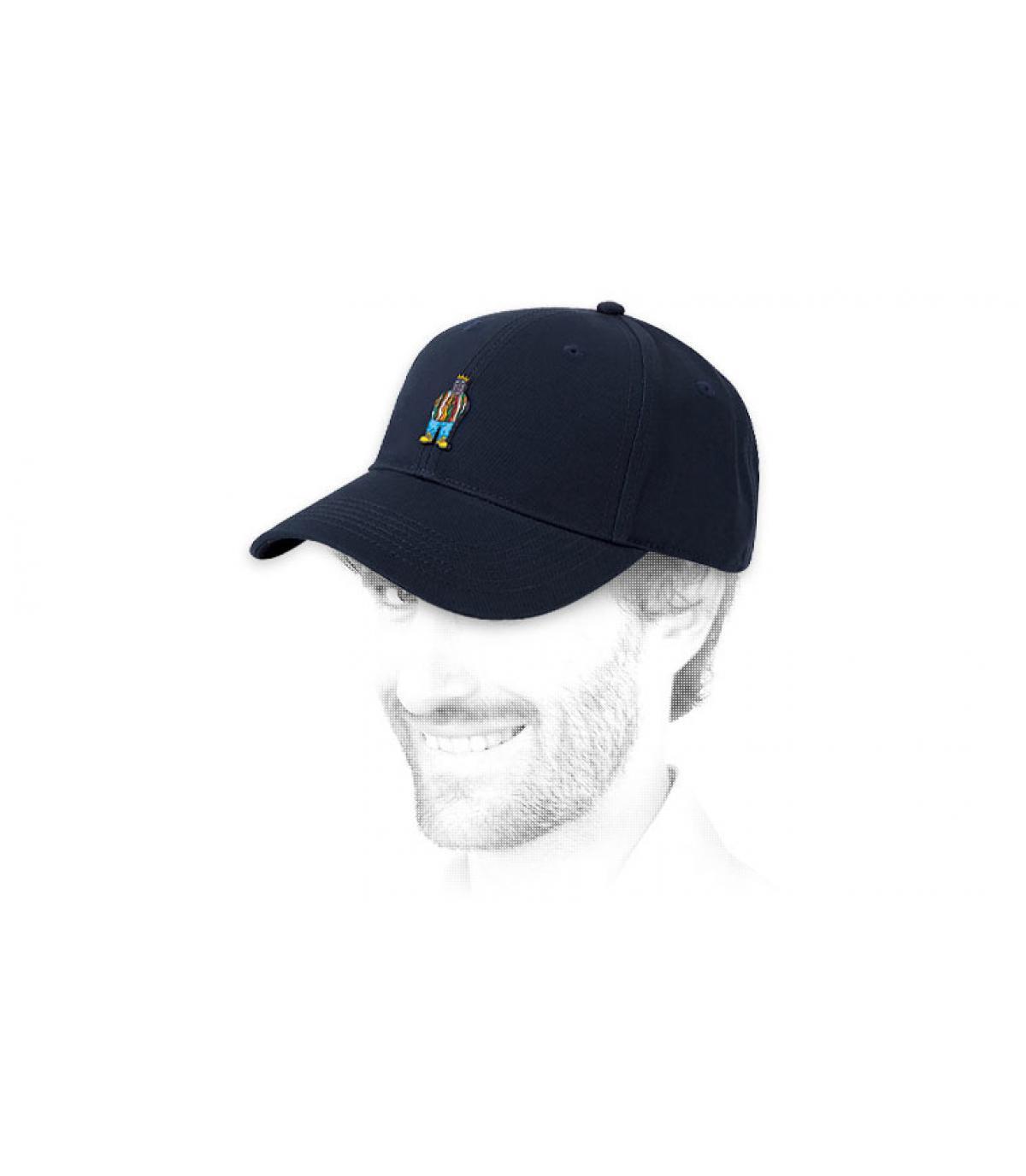 blu Notorious cap