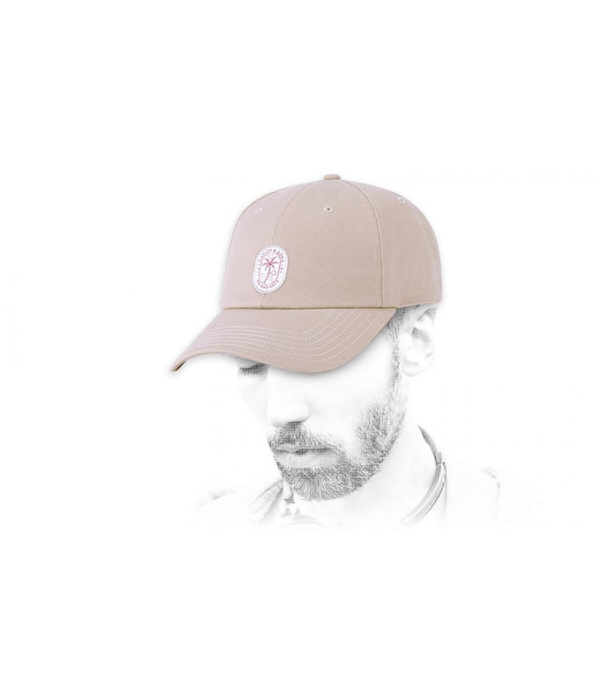 Cappello beige Cayler