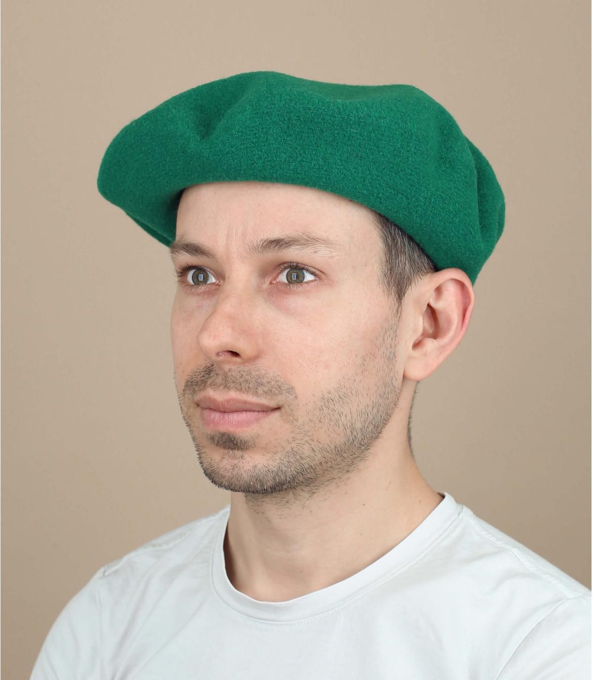 Berretto uomo verde
