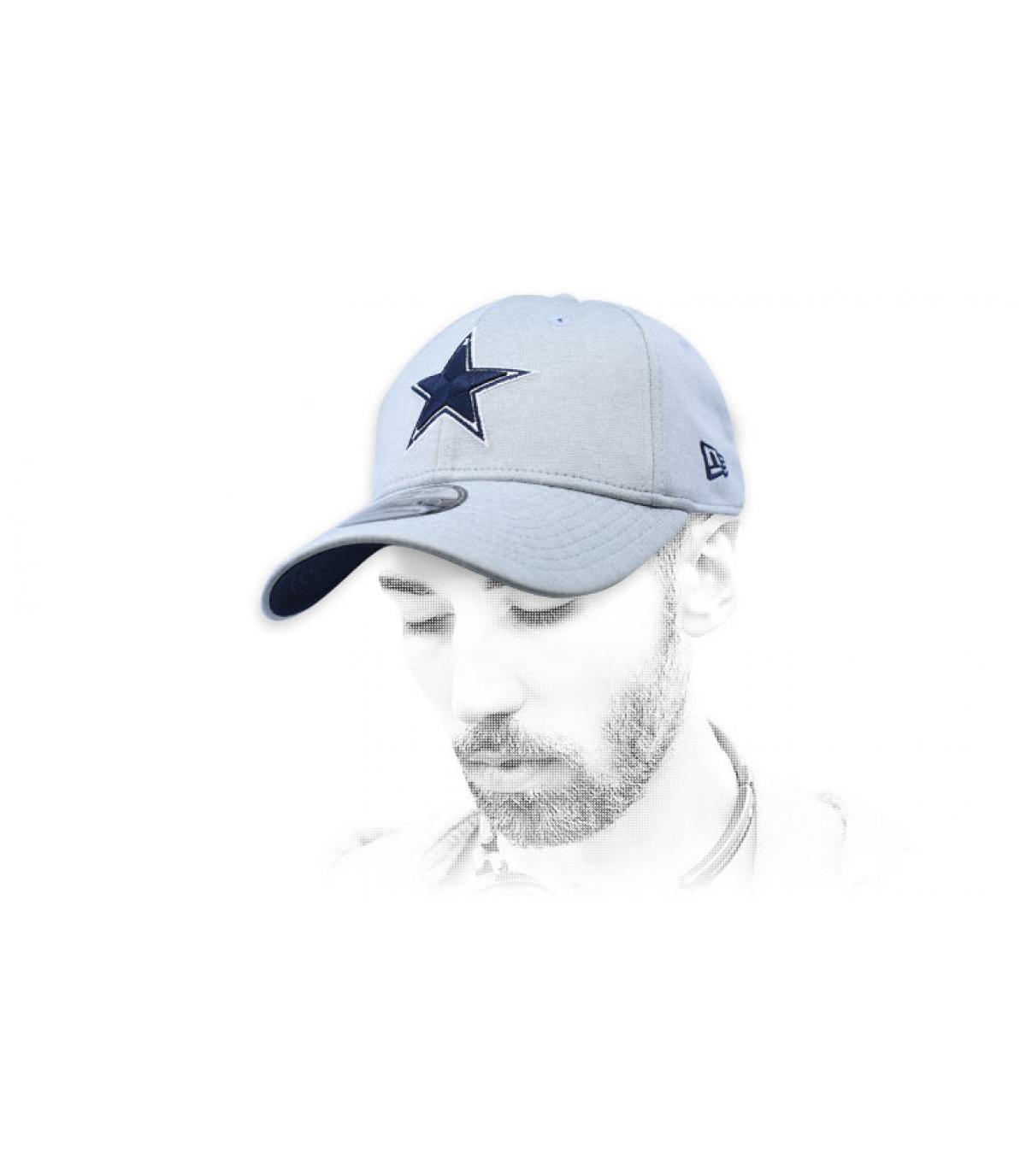 cappello grigio di Dallas