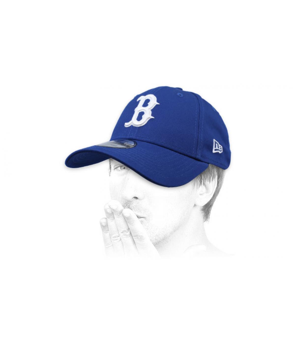 cappuccio B blu
