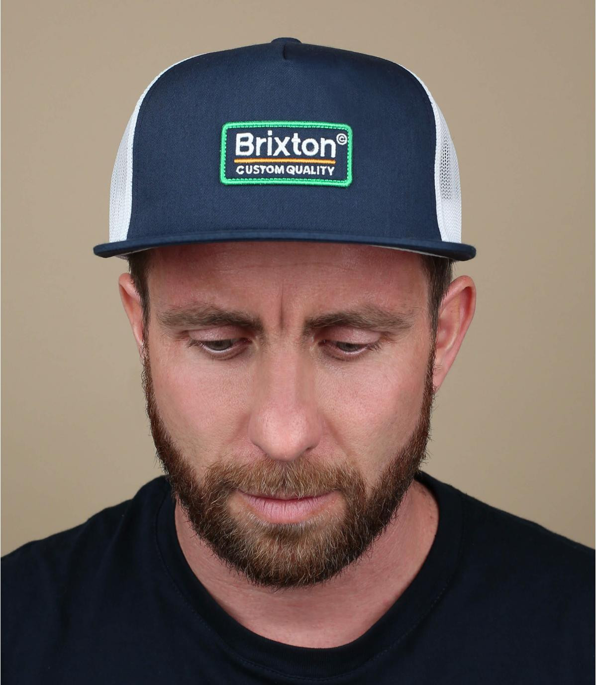 trucker blu scuro Brixton