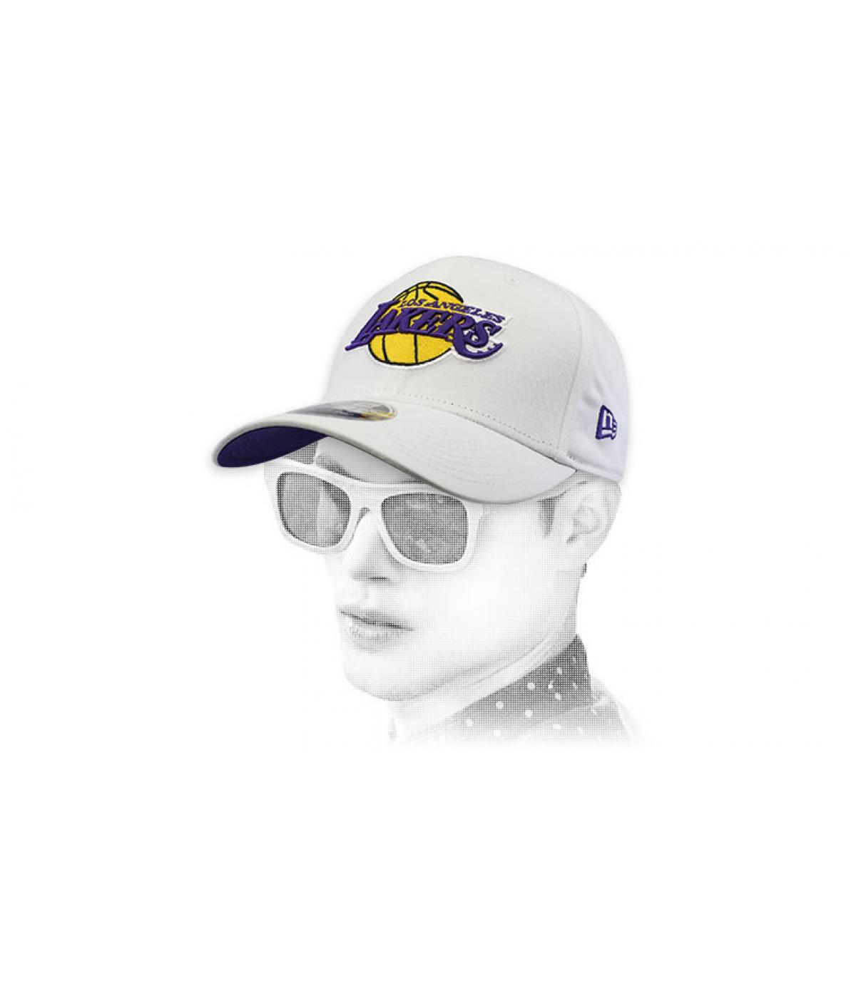 berretto bianco dei Lakers