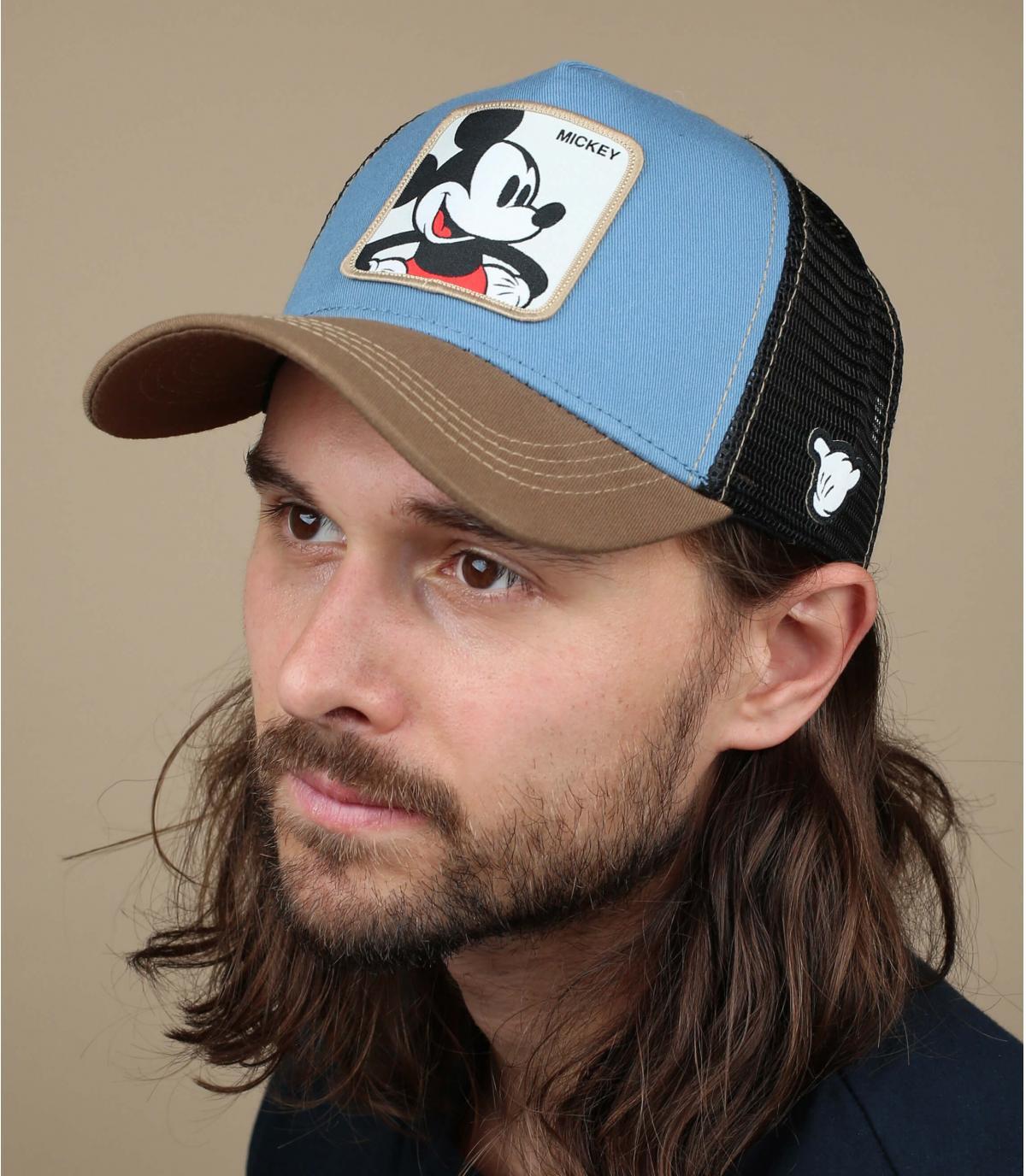 trucker Mickey blu