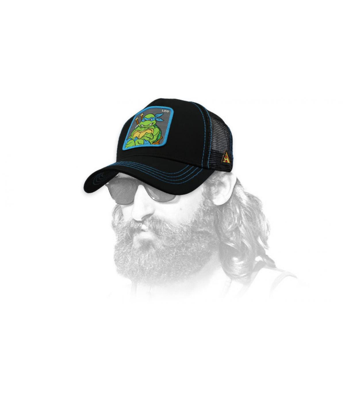 trucker Leonardo nero
