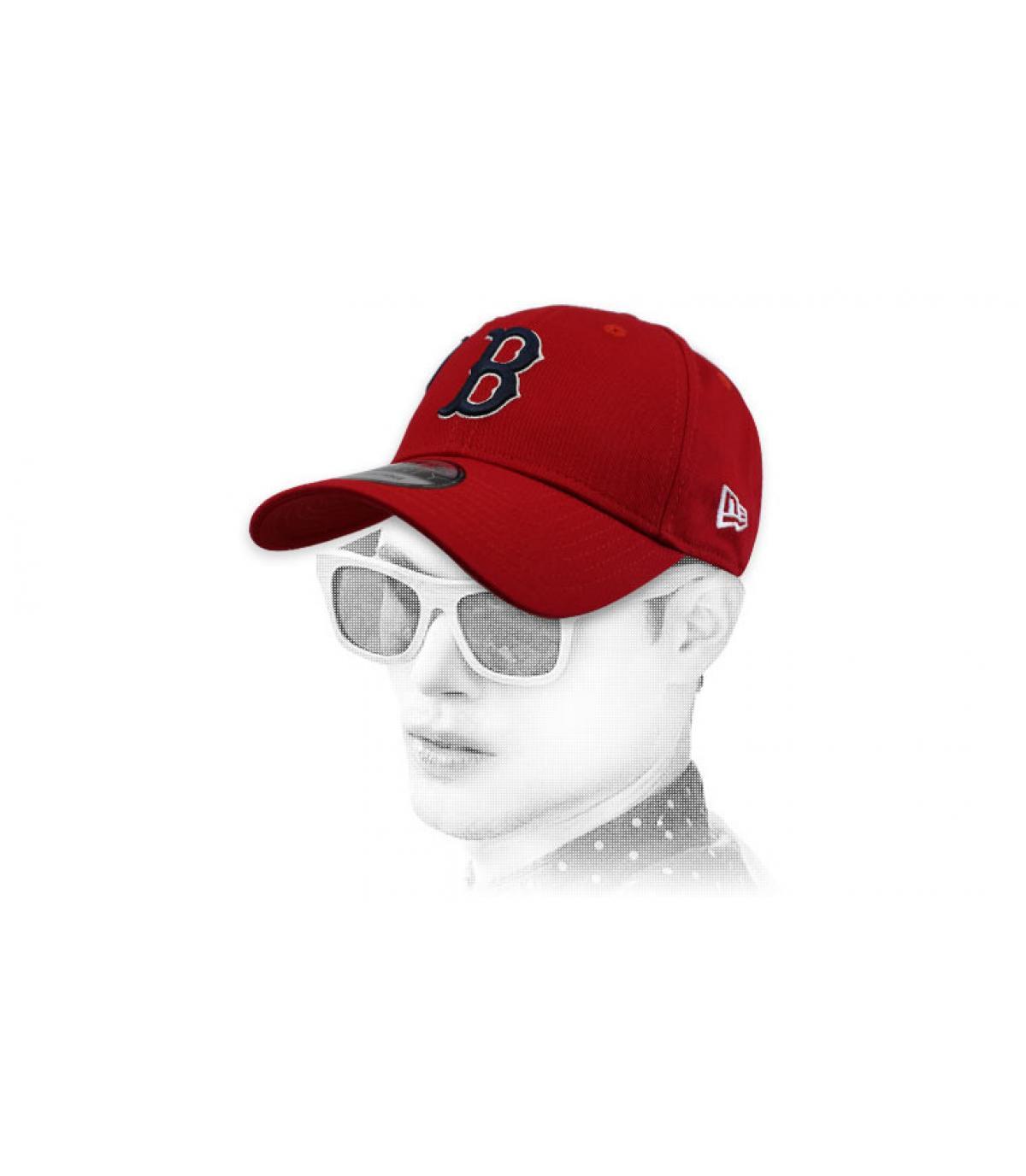 cappuccio B rosso
