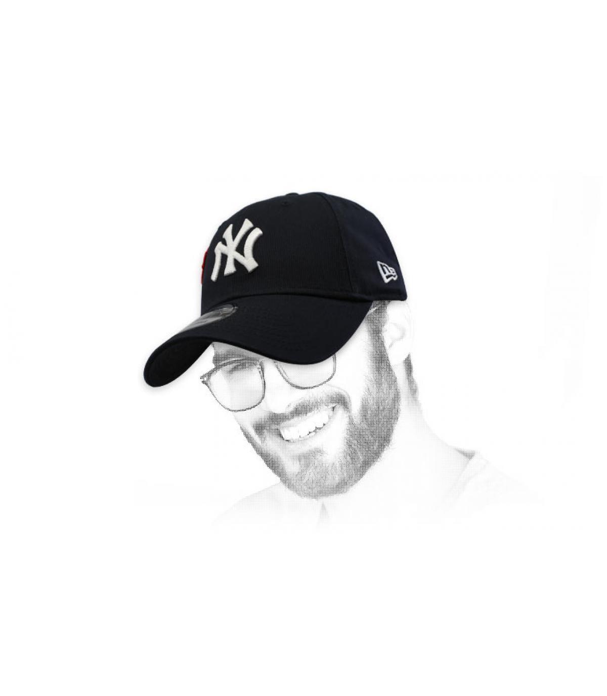 berretto NY nero