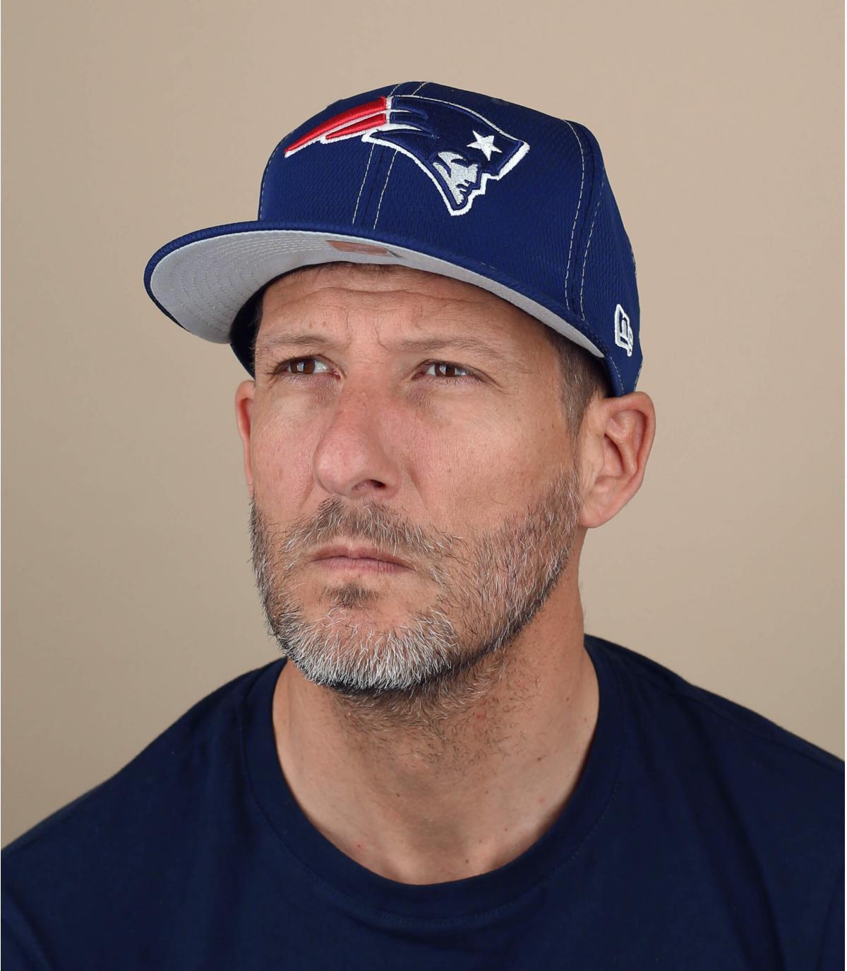 cappello blu Patriots