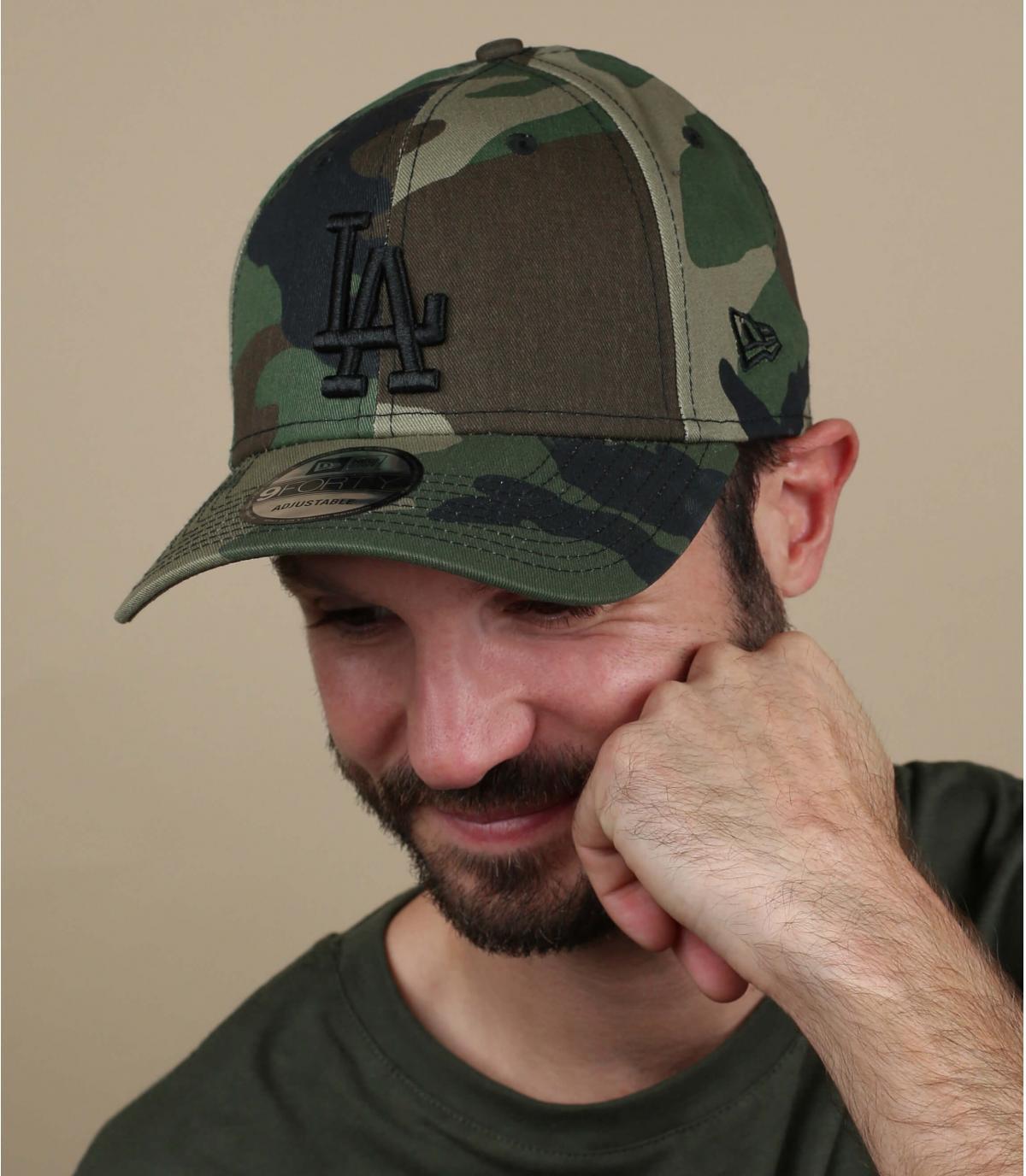 LA Camo Cap