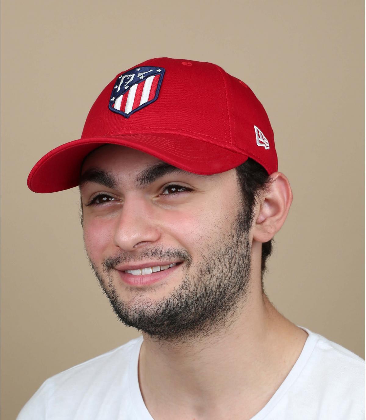 cappello rosso di Atletico Madrid