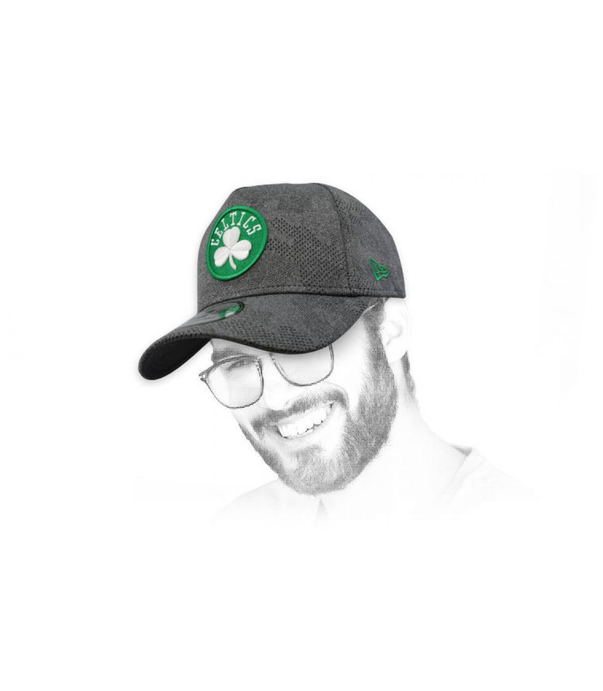 Cappellino Celtics grigio