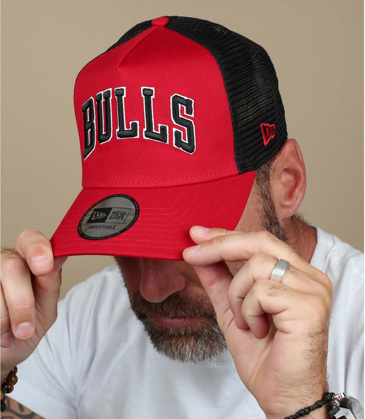 trucker rosso Bulls
