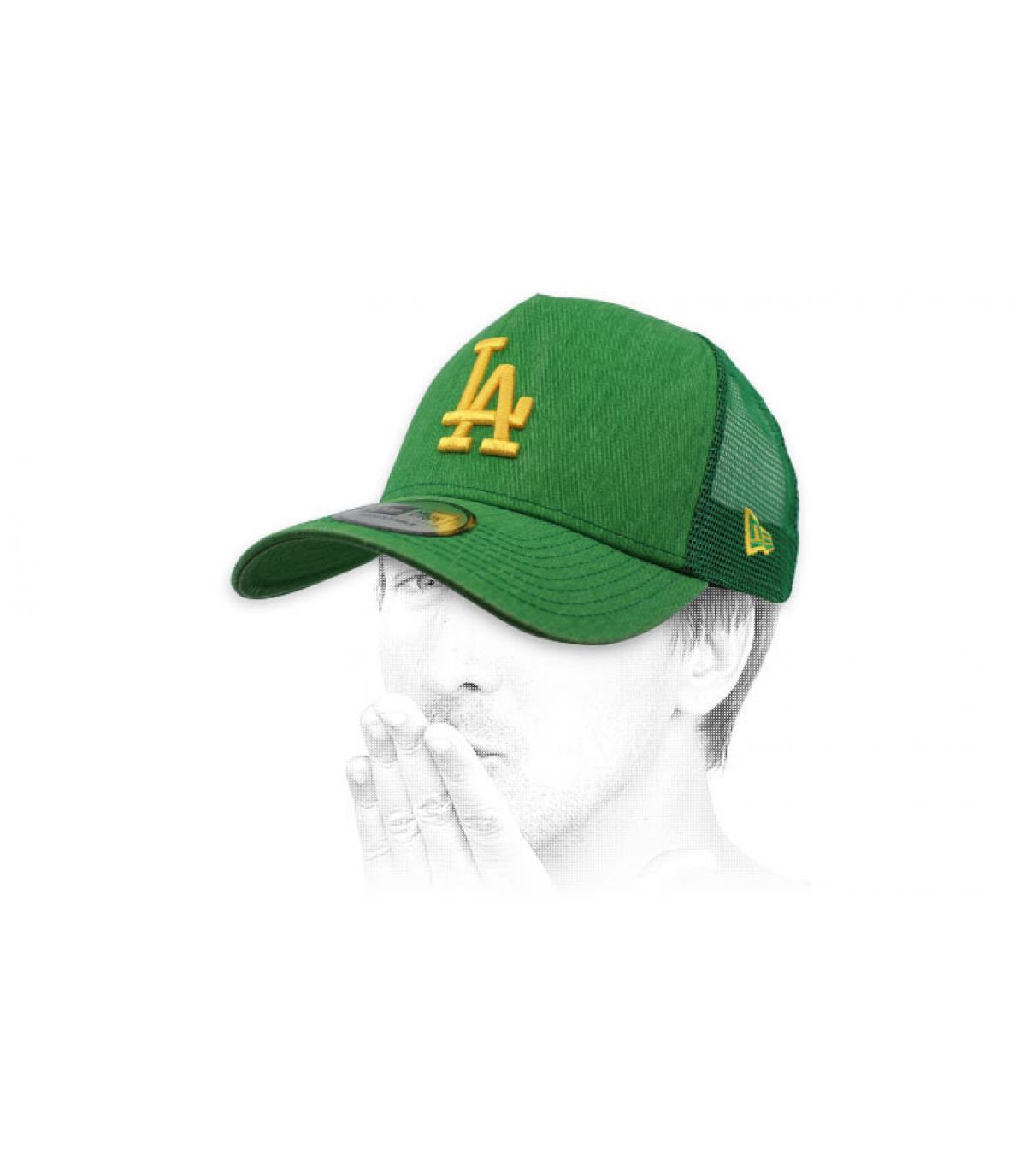 trucker LA verde giallo