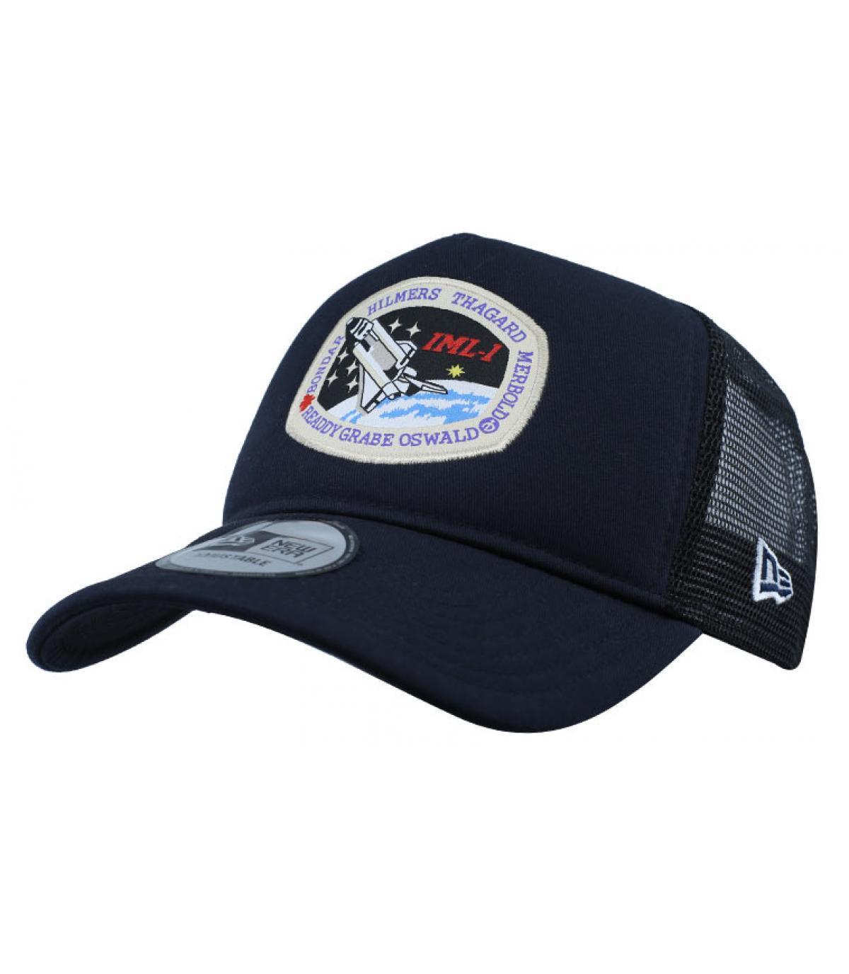 trucker della NASA blu