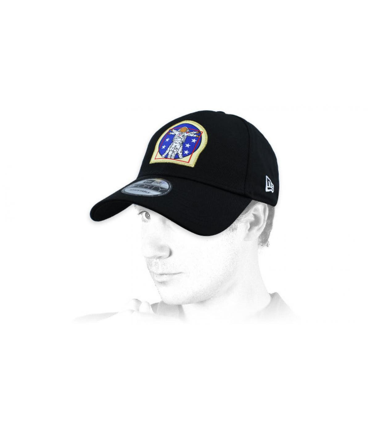berretto cosmonauta nero