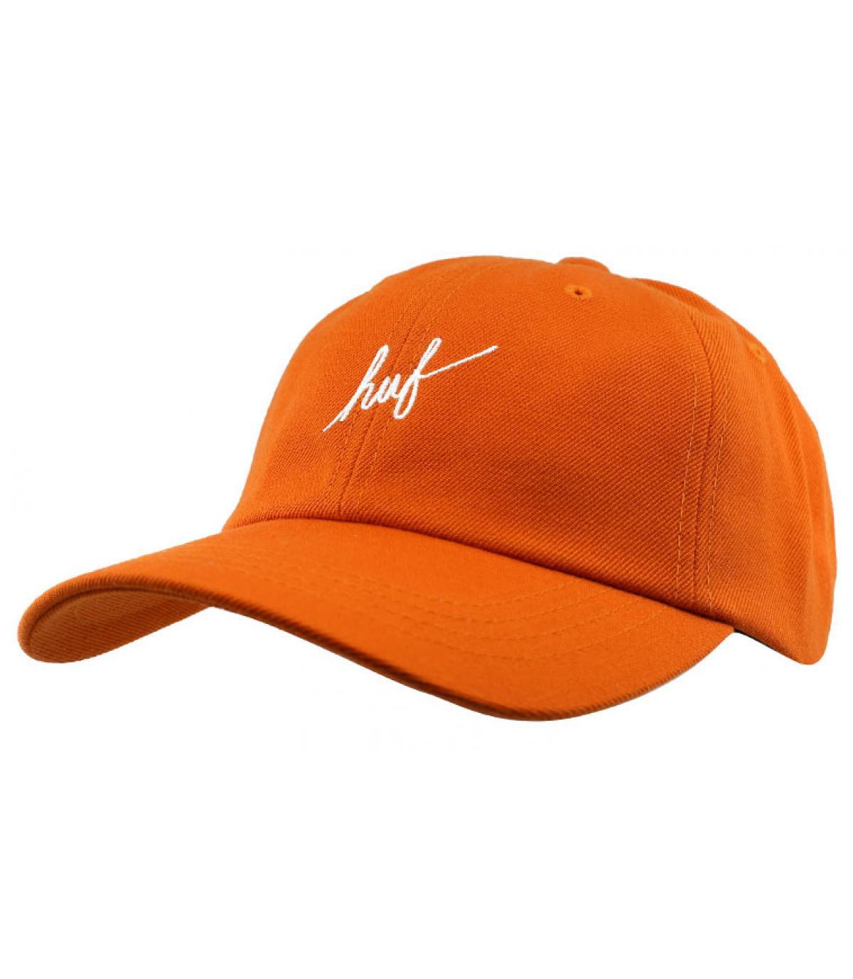 cappello arancione Huf